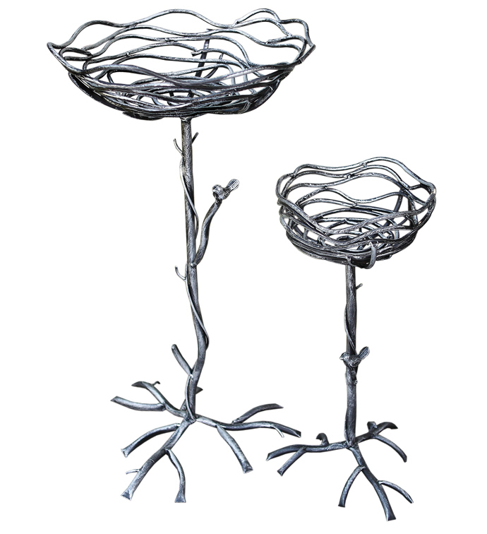 Metal Nest Plant Stand, Set of 2