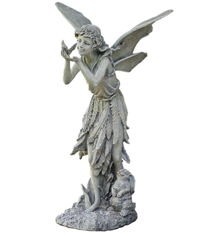 Fairy with Bird Figure