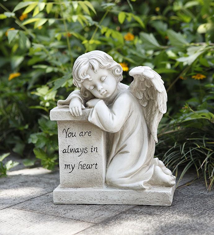 Cherub Resting on Pedestal