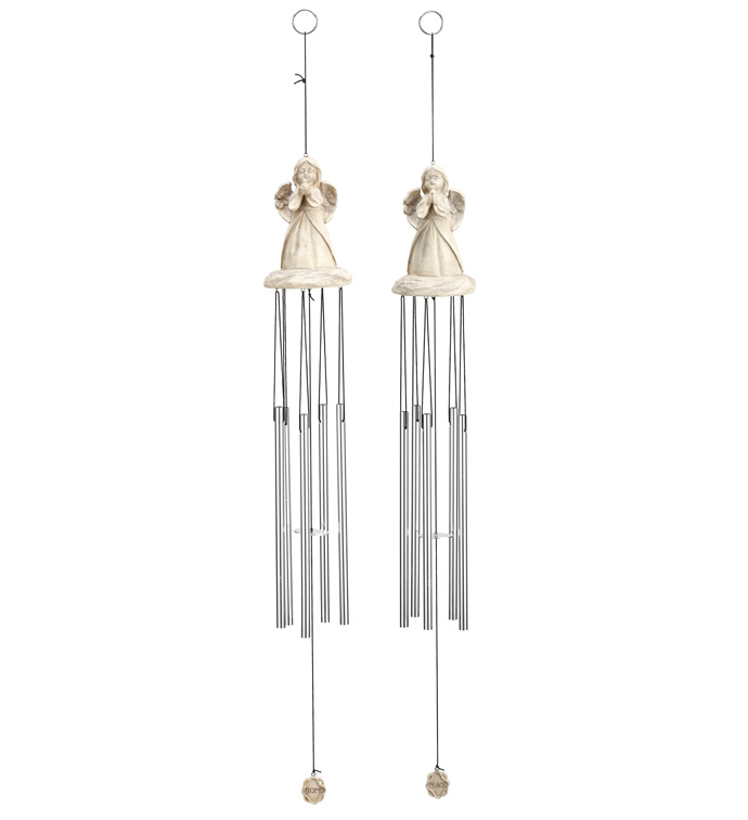 Angel Wind Chime, 2 Assorted