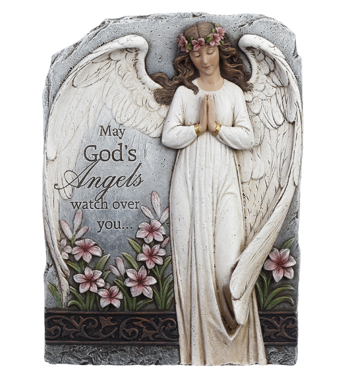 Angel Sympathy Plaque Image