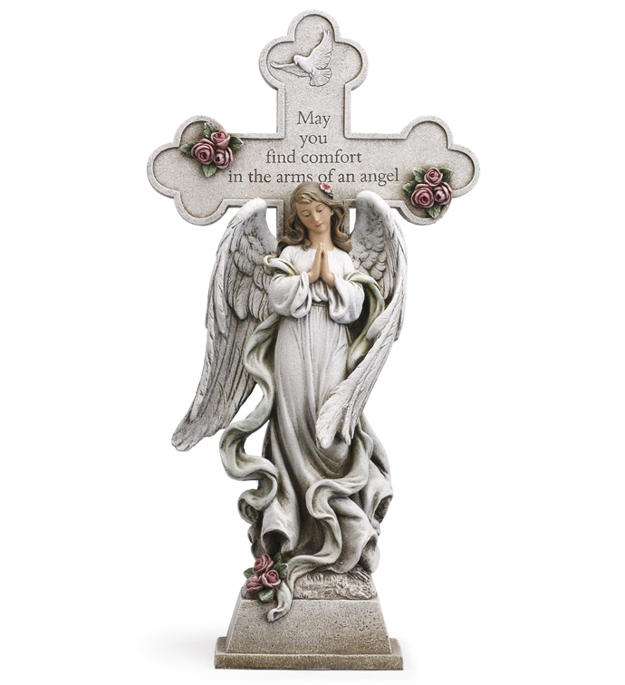 Praying Cross Angel