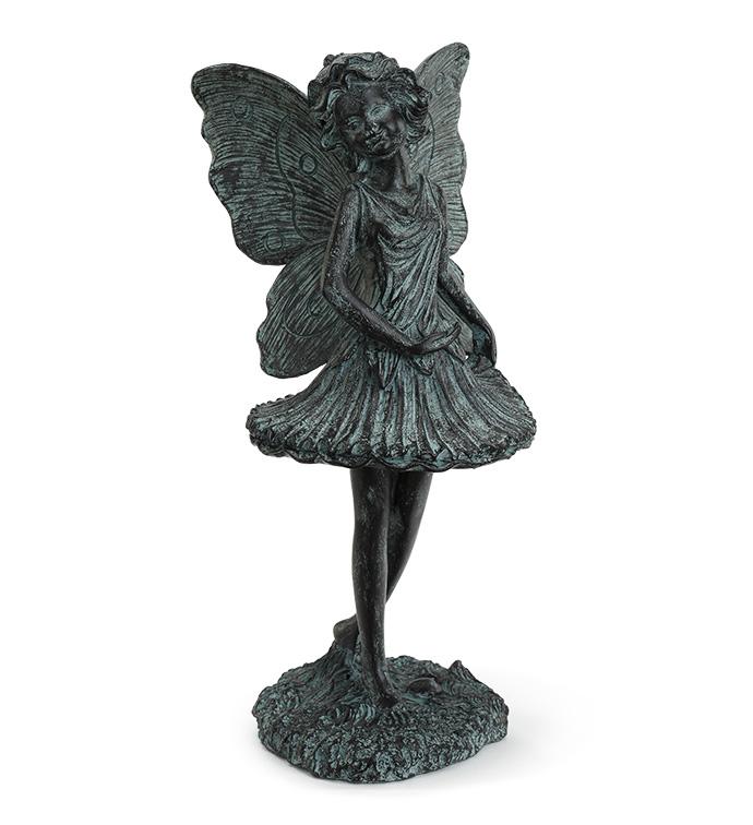 Blue Patina Ballet Fairy