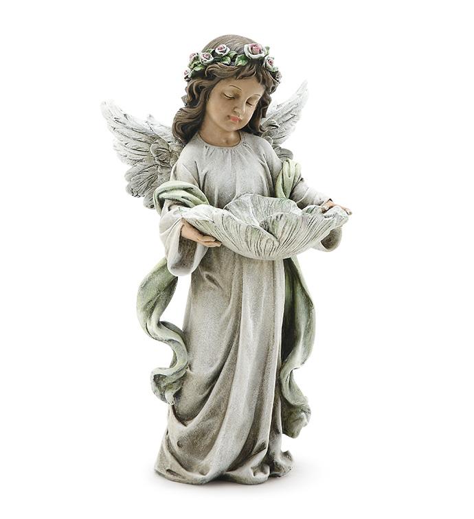 Pastel Angel Girl Birdfeeder