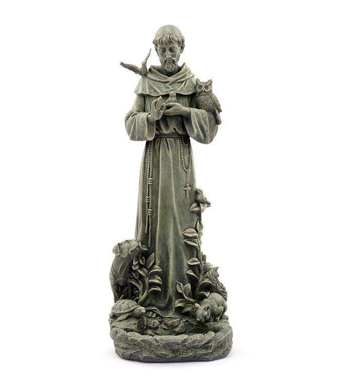 St Francis Bird Feeder