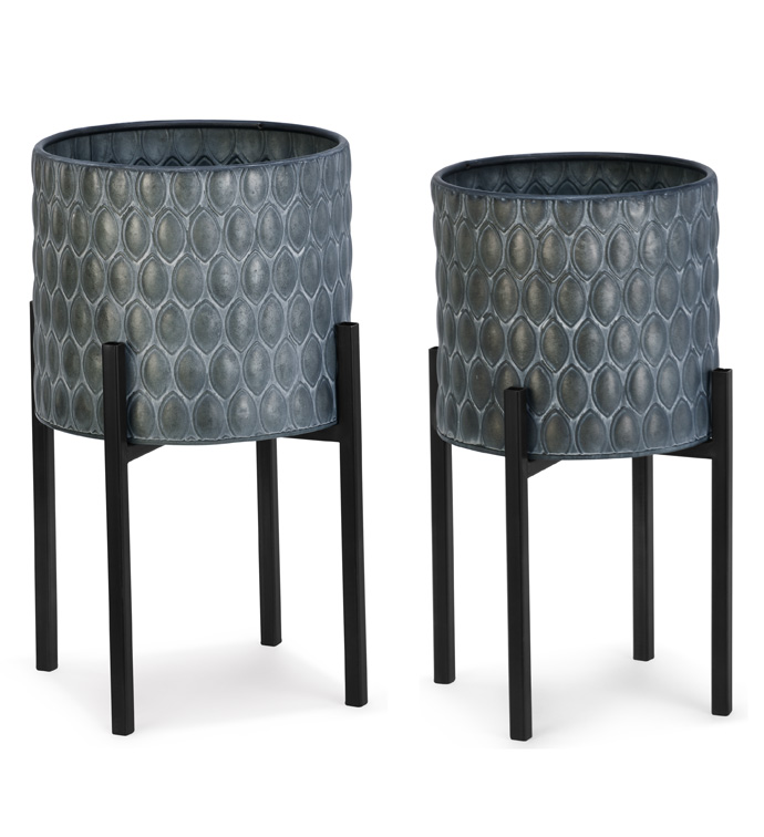 Set of 2 Low Plant Stand