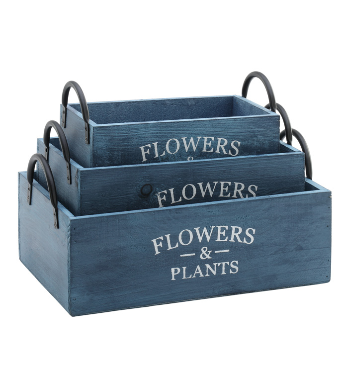 Planter Boxes, Set of 3