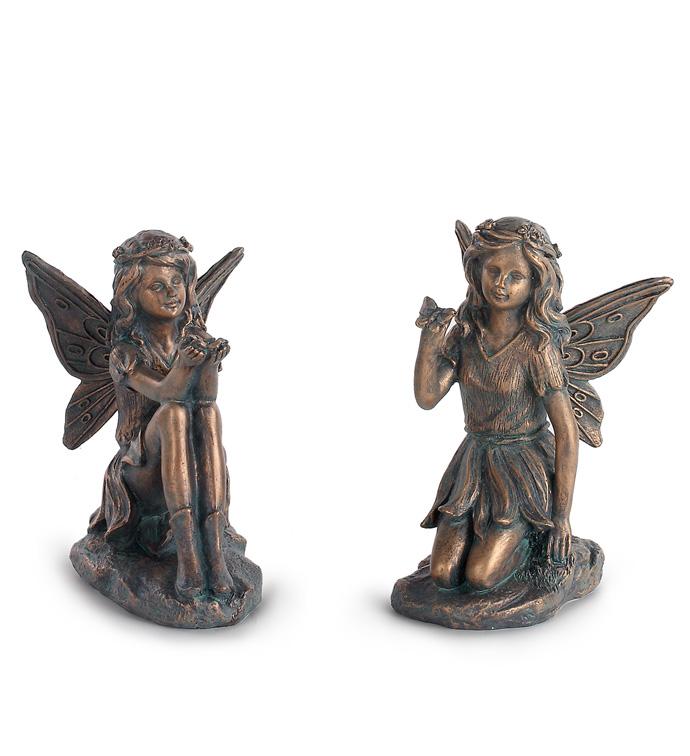 Copper Blue Fairies, 2 Assorted