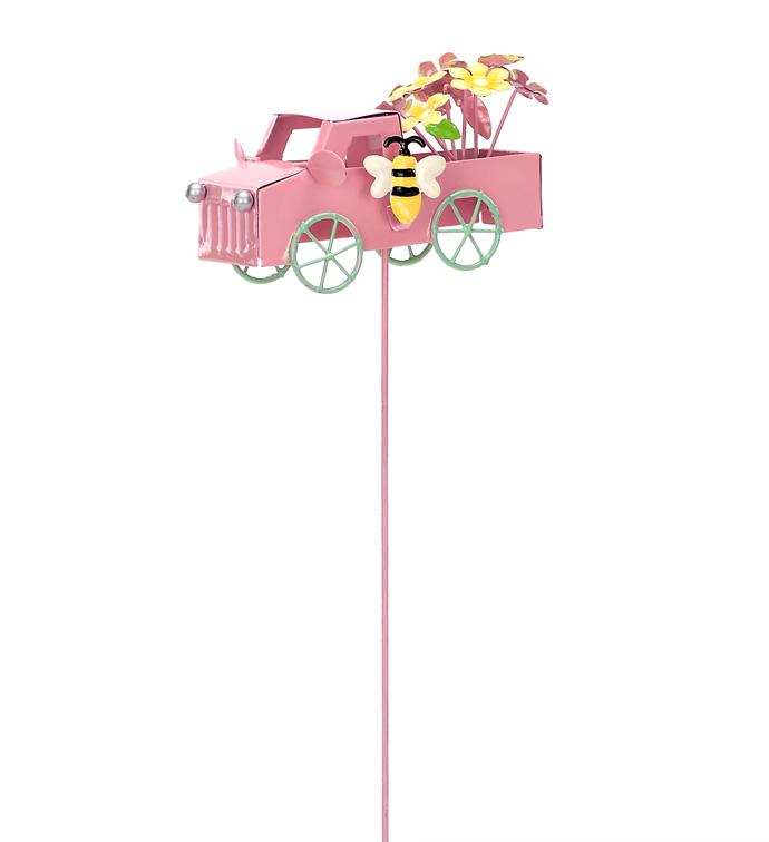 Pink Flower Truck Pick