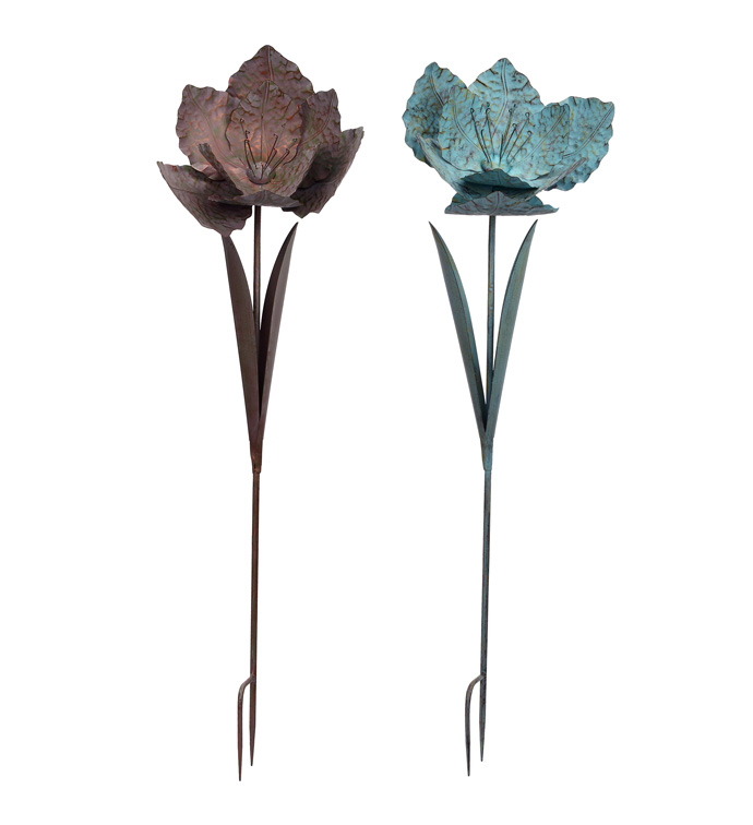Extra Large Flower Stake, 2 Assorte