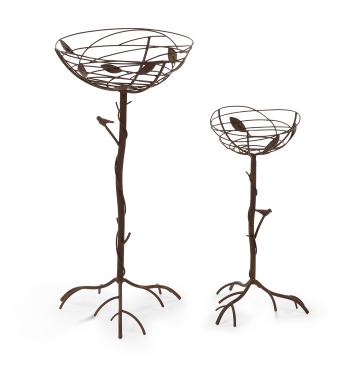 Vine Nest Plant Stand,Set of 2