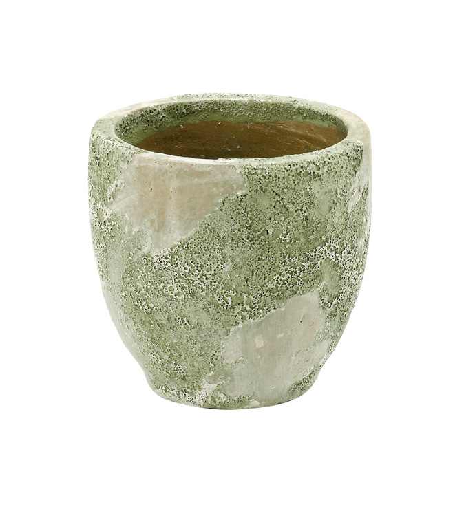 Large Mossy Green Planter