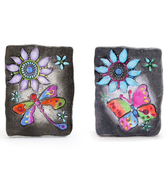 Butterfly Stepping Stone, 2 Assorte