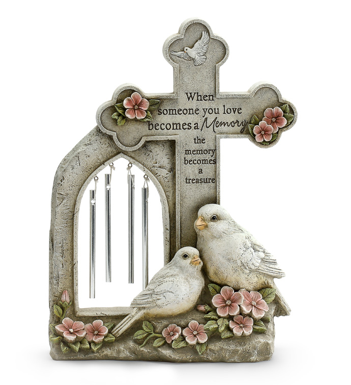 Doves/Cross Wind Chime