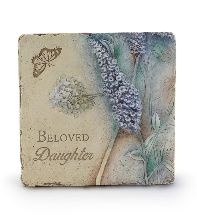 Beloved Daughter Plaque