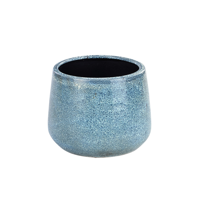Extra Large Distressed Blue Planter