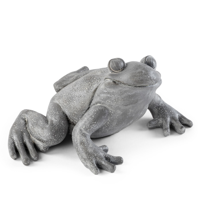 Grinning Frog Statue