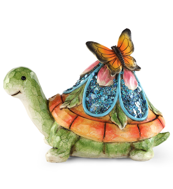 Spring Garden Turtle Statue