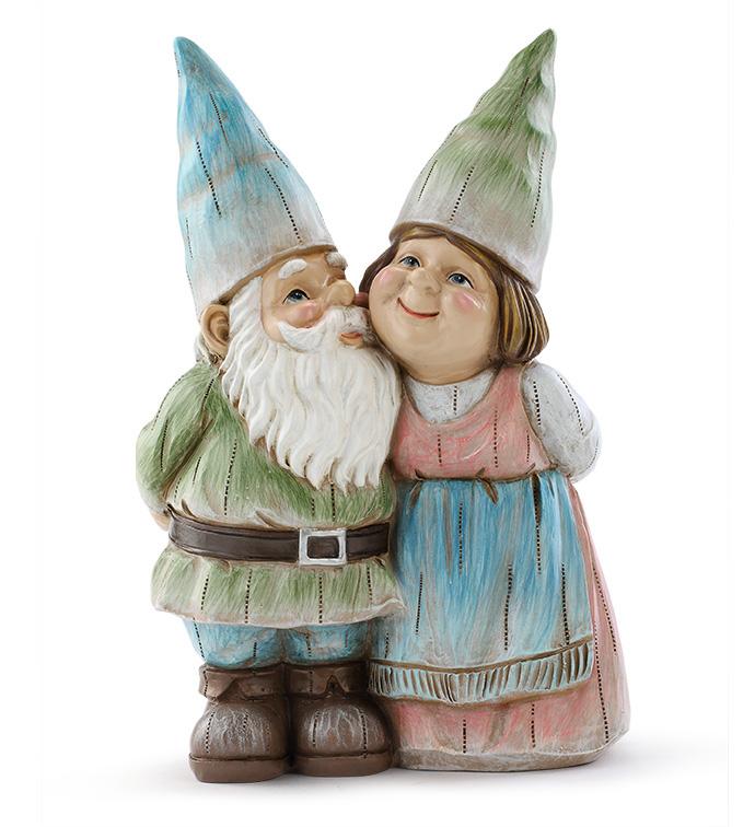 Pastel Gnome Couple