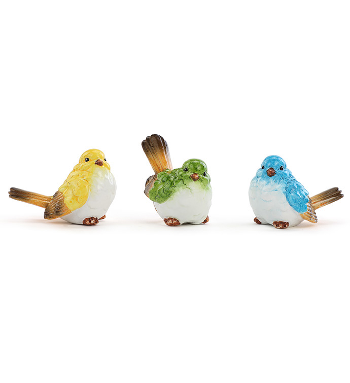 Spring Birds, 3 Assorted