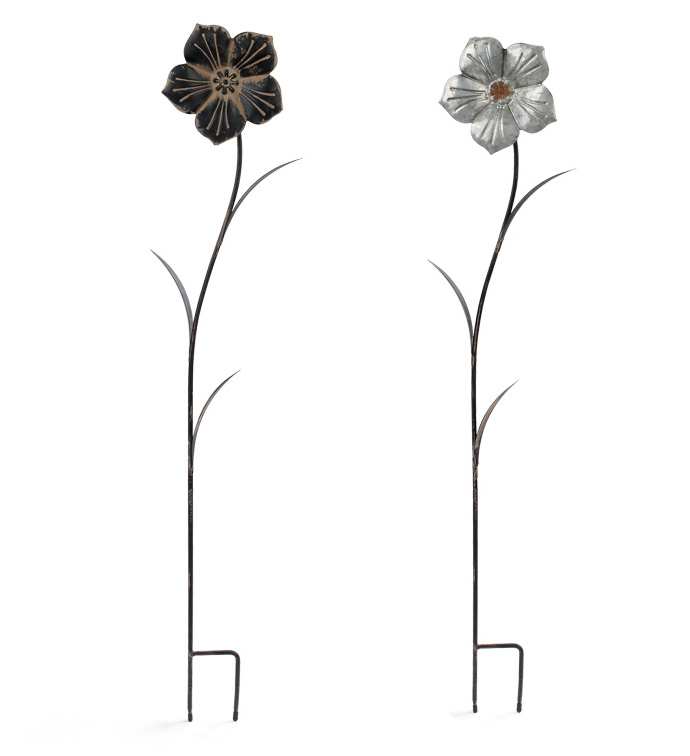 Flower Stake, 2 Assorted