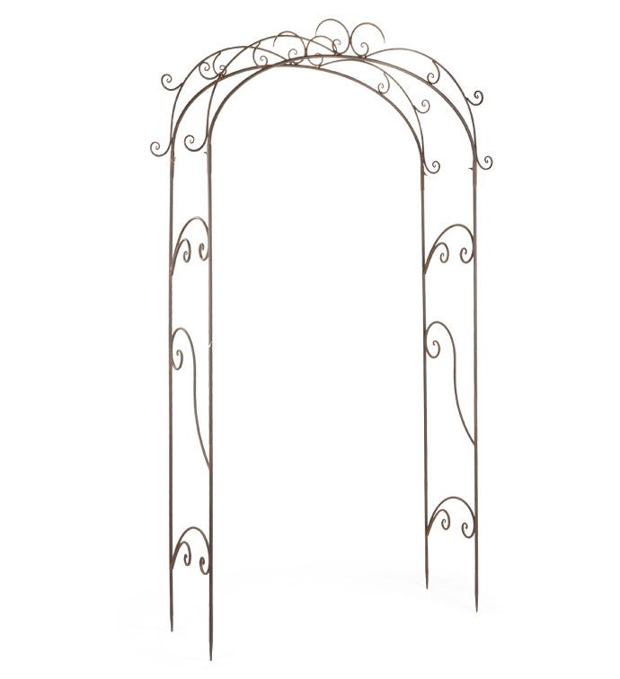 Antique Bronze Garden Arch
