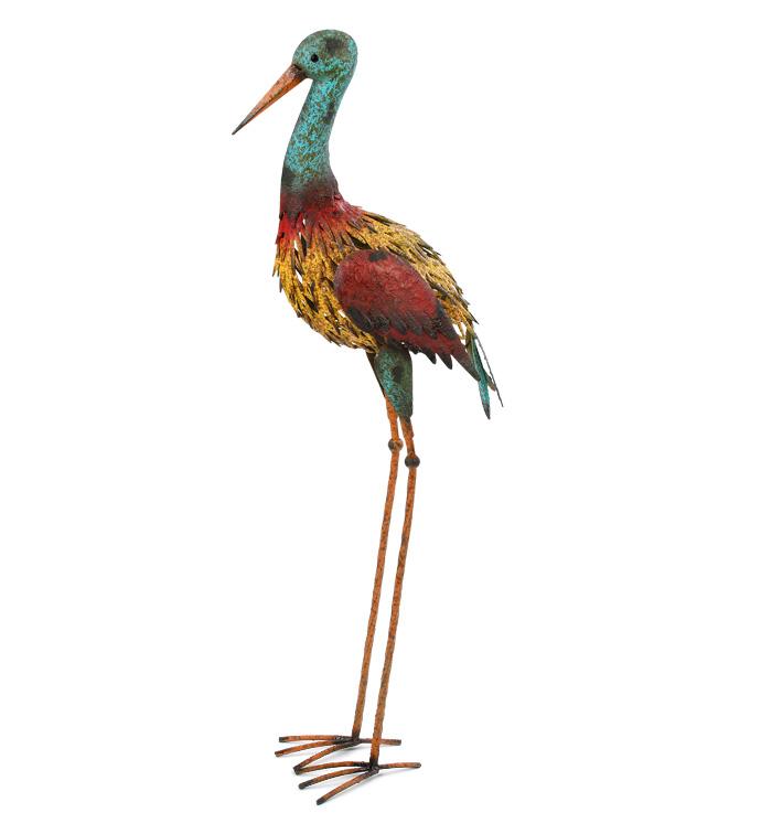 Red/Yellow Large Garden Bird