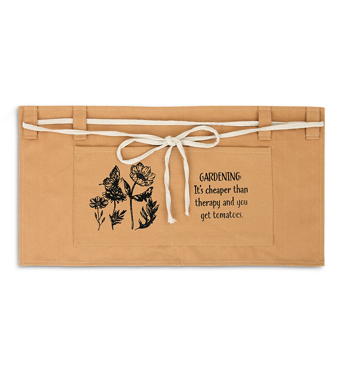Brown Therapy Garden Apron