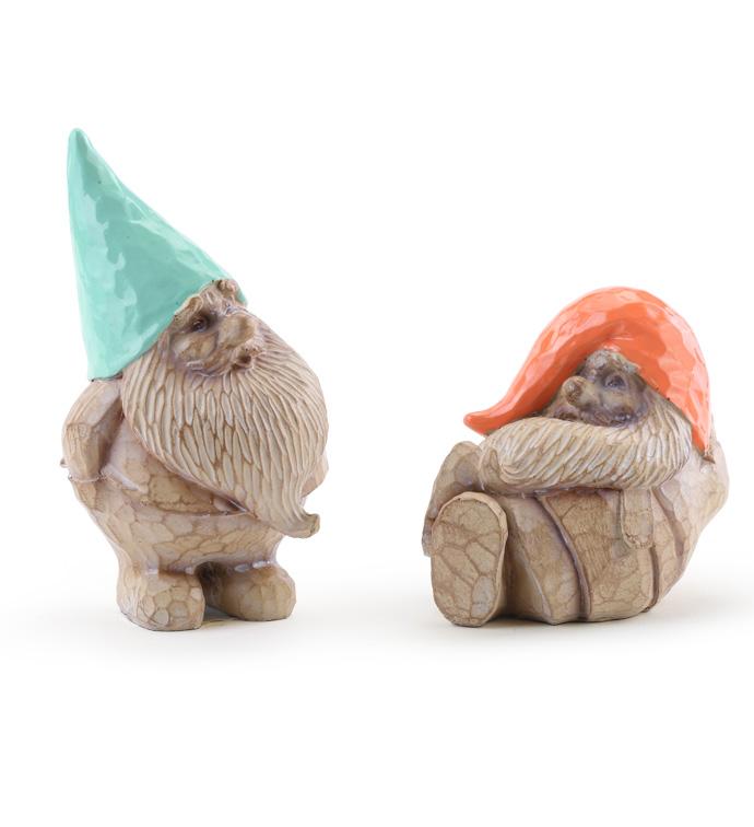 Teal/Orange Gnomes, 2 Assorted