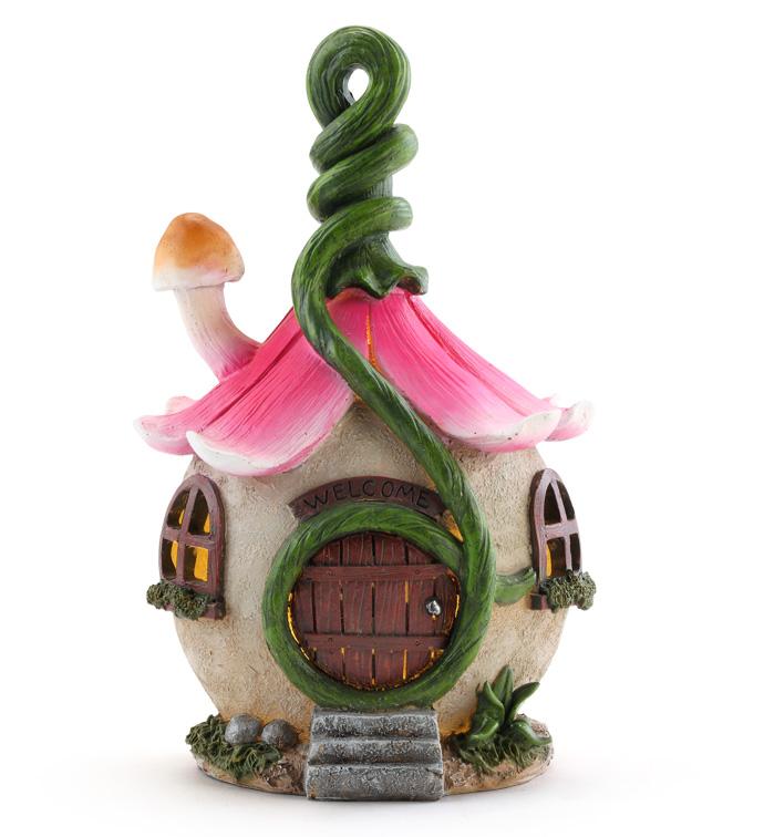 LED Flower Fairy House