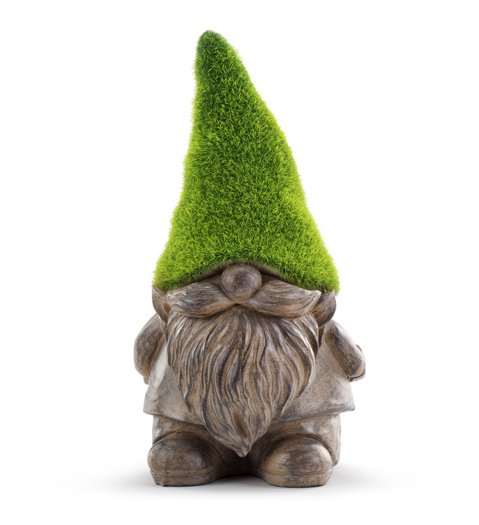 Squatty Gnome with Moss Hat