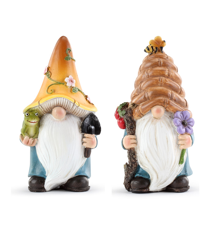 Spring Gnomes, 2 Assorted