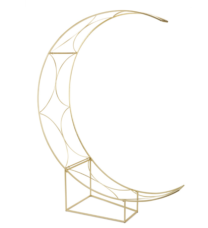 Crescent Moon Garden Arch