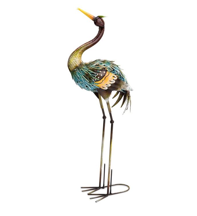 Standing Garden Heron