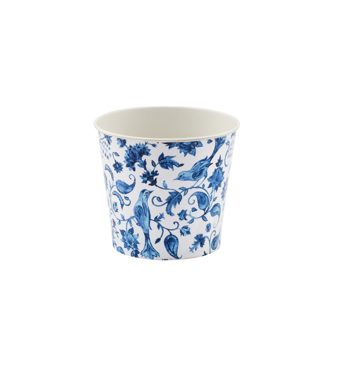 "5"" Delft Decal Pot Cover"