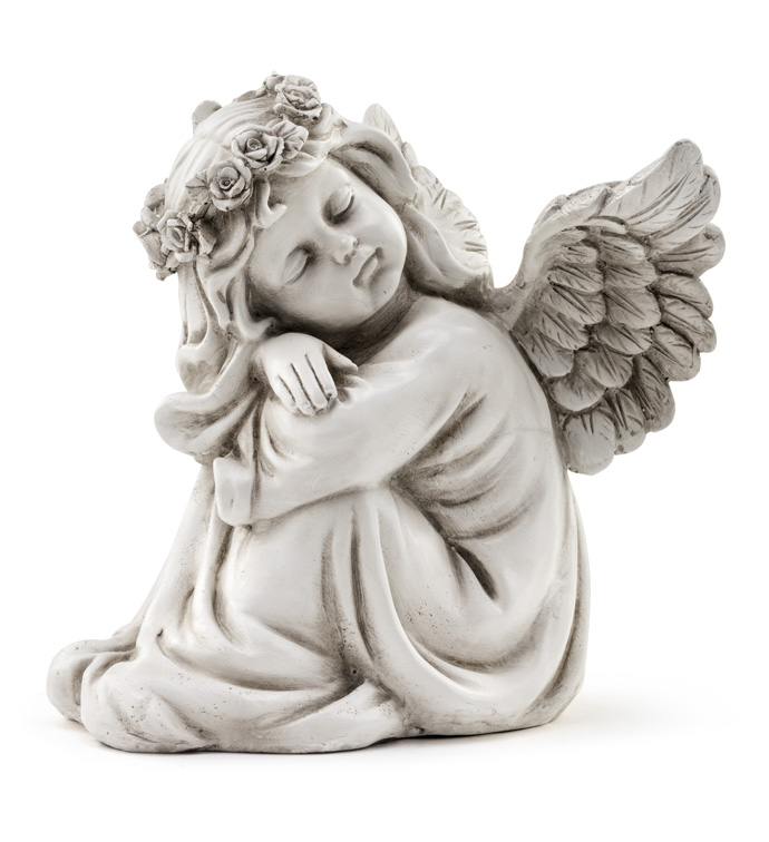 Sleeping Angel Girl Statue