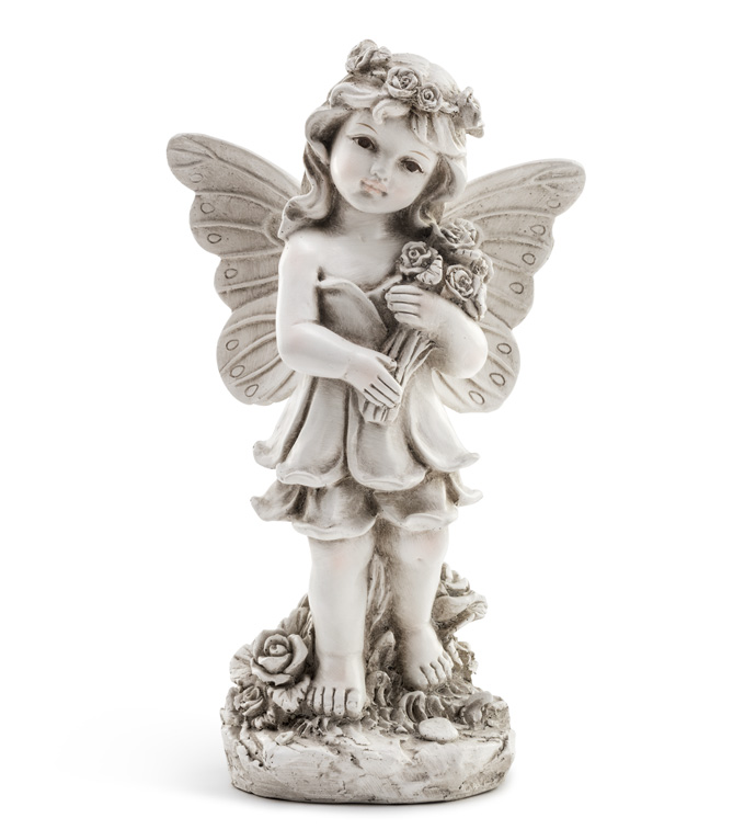 Standing Angel w/Bouquet