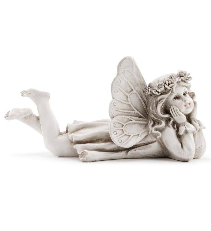 Laying Angel Girl