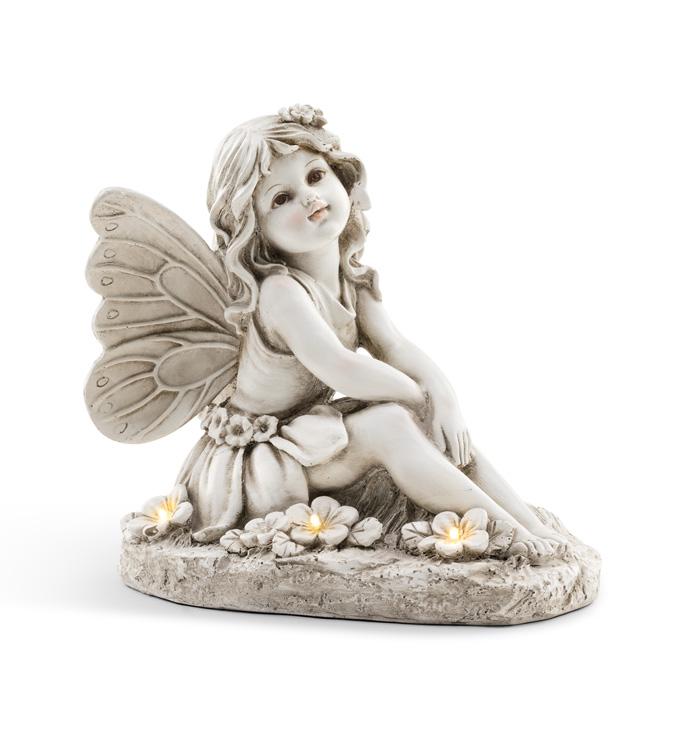 Solar Sitting Angel