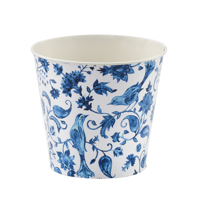 "6.5"" Delft Decal Pot Cover"