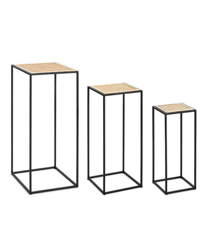 Plant Stand Table, Set of 3