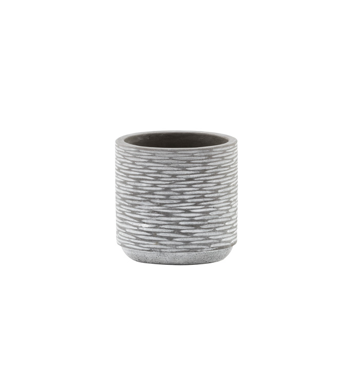 Small Grey/White Planter