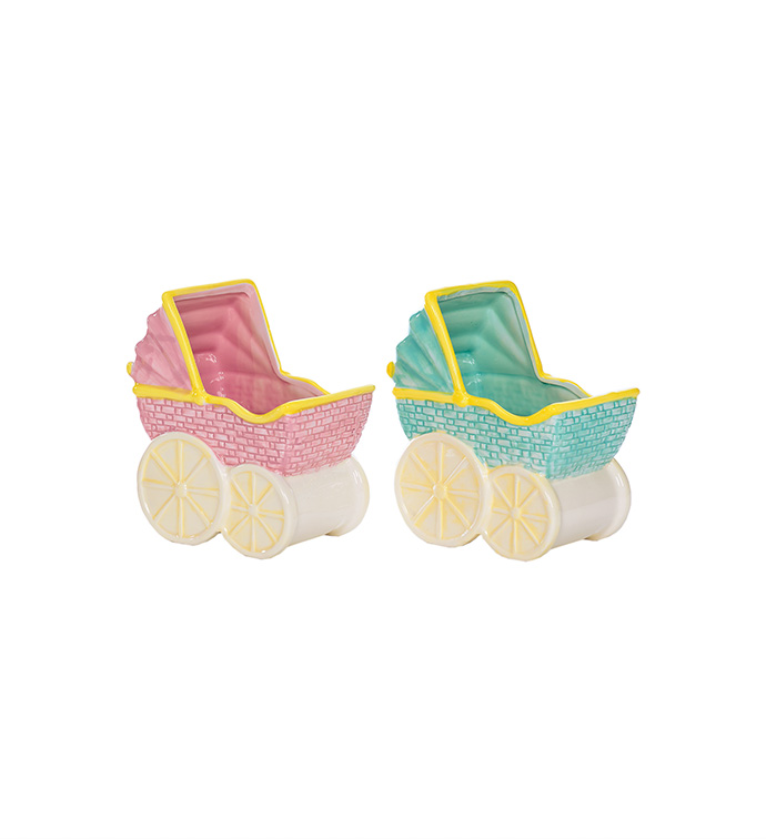 Large Baby Buggy, 2 Assorted