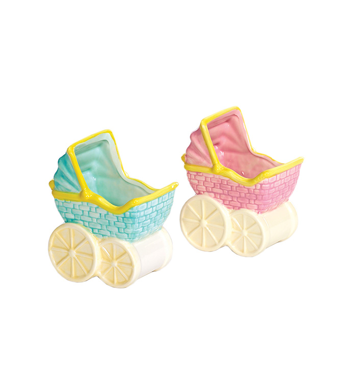 Small Baby Buggy, 2 Assorted