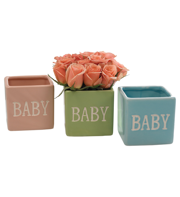 """Baby"" Mini Cube, 3 Assorted"