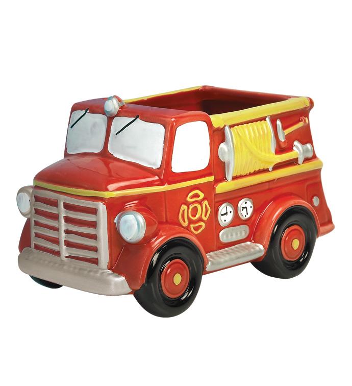 Fire Truck Planter