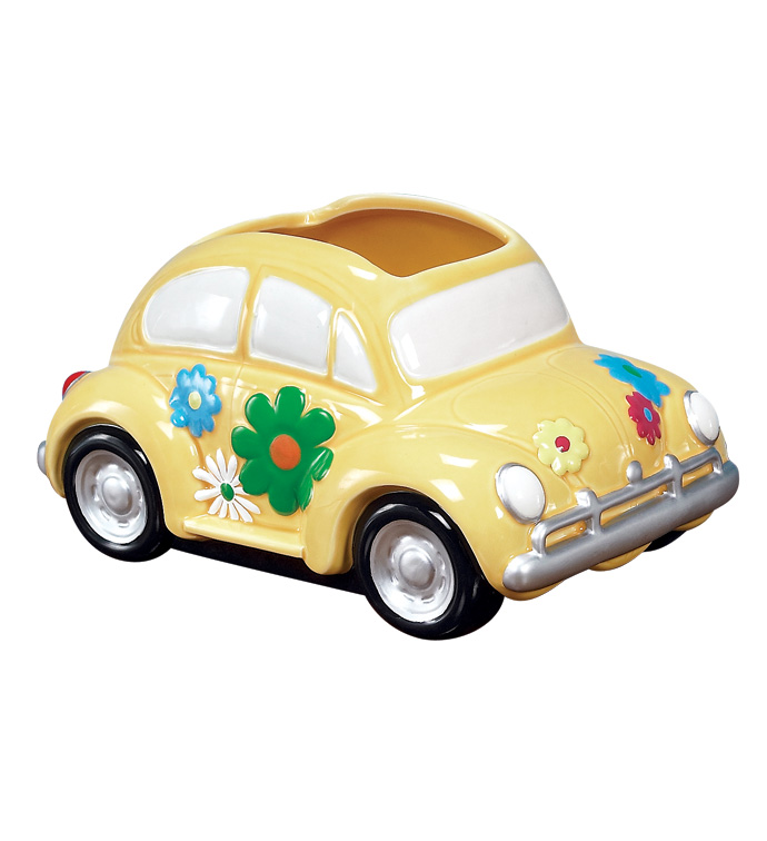 Love Bug Car Planter