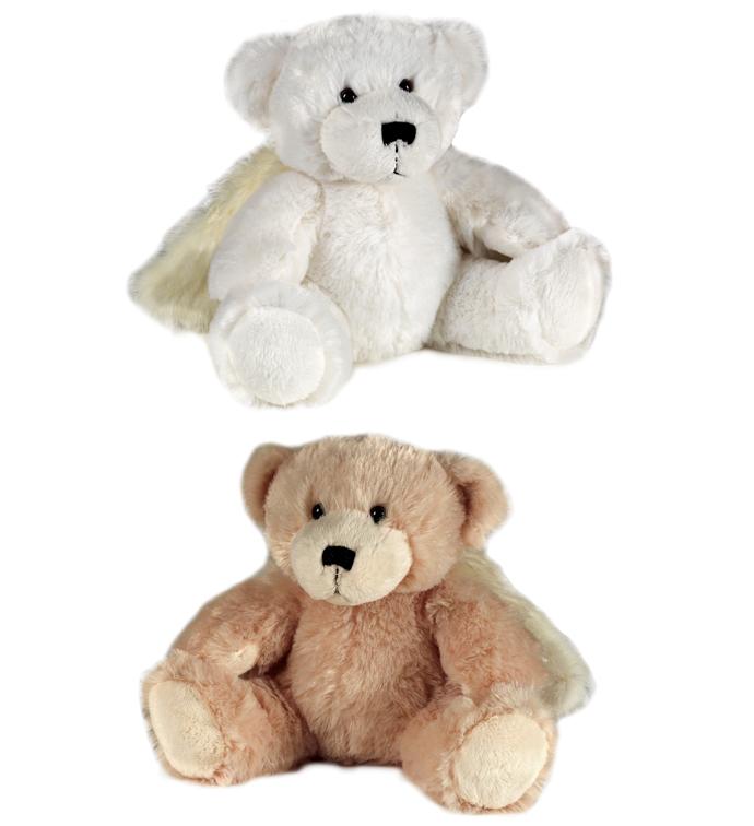 "10"" Angel Bear, 2 Assorted"