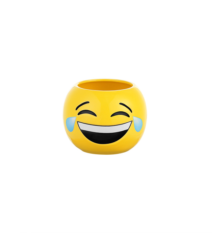 LOL Emoji Ball Planter