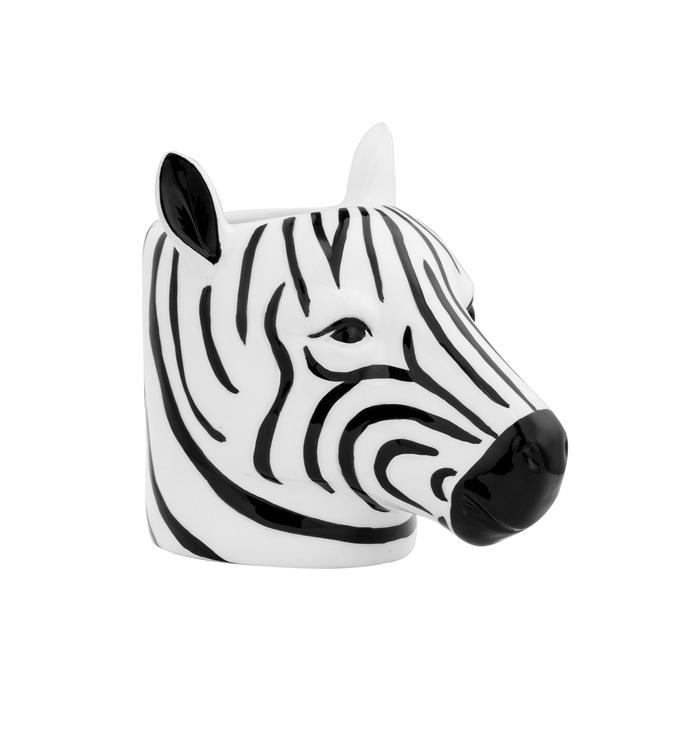 Zebra Head Planter